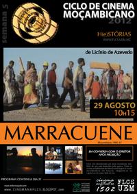 Poster for Student film festival, 2012