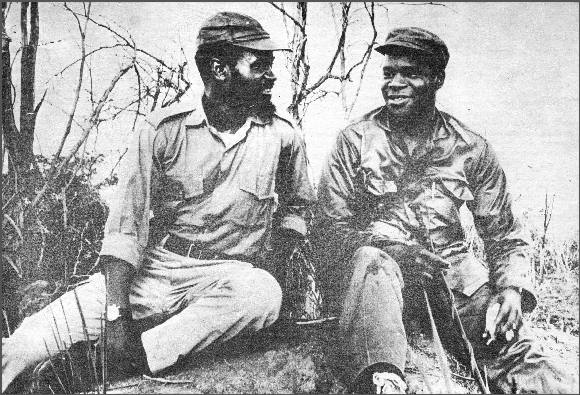 Samora Machel and Eduardo Mondlane