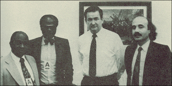 MNR/Renamo representatives in the White House, 1986