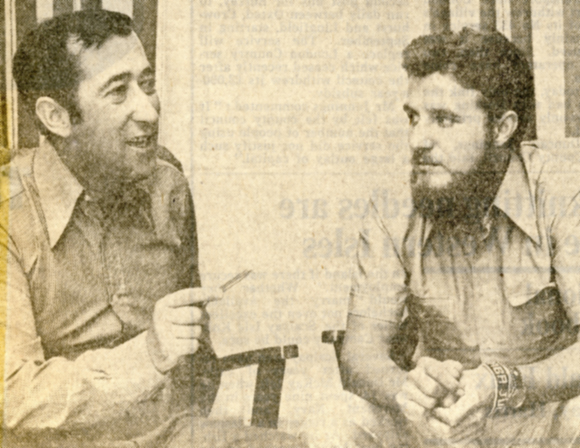 Vicente Berenguer Llopis and Julio Moure