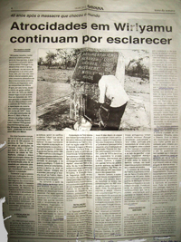 The Isadora Ataide article in Savana