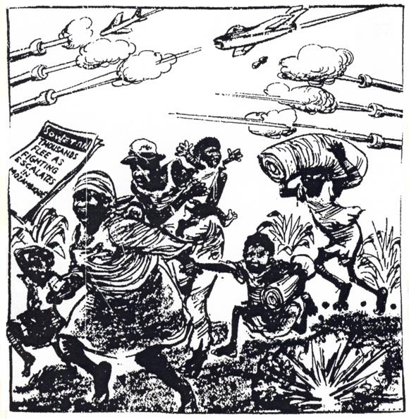 Sowetan cartoon, 16 October 1986