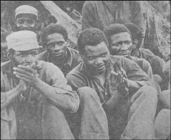 Reeducandos em Chaimite
