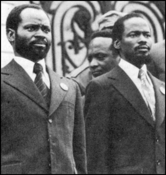 Samora Machel and JOaquim Chissano