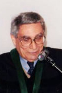 Contemporary photograph of Eugenio Lisboa