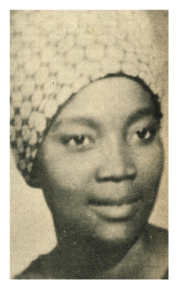 Josina Machel in scarf