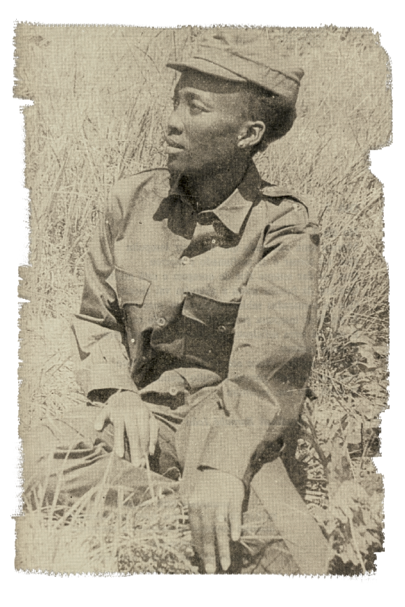 Josina Machel seated