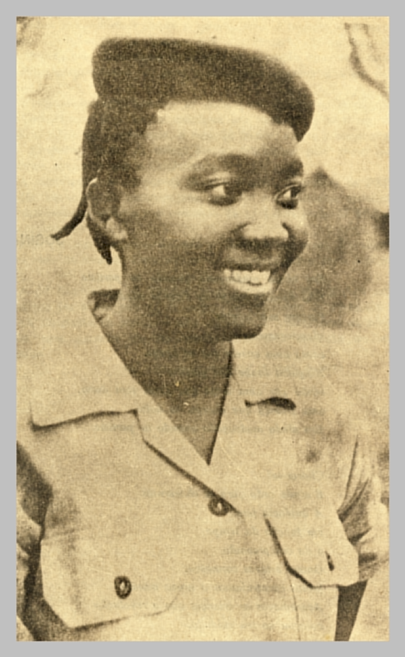 Josina Machel, smiling