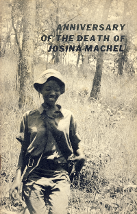 TCLPAC leaflet on Josina Machel