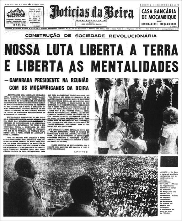 Noticias da Beira, June 1975
