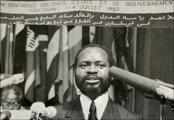 Samora at Freetown OAU