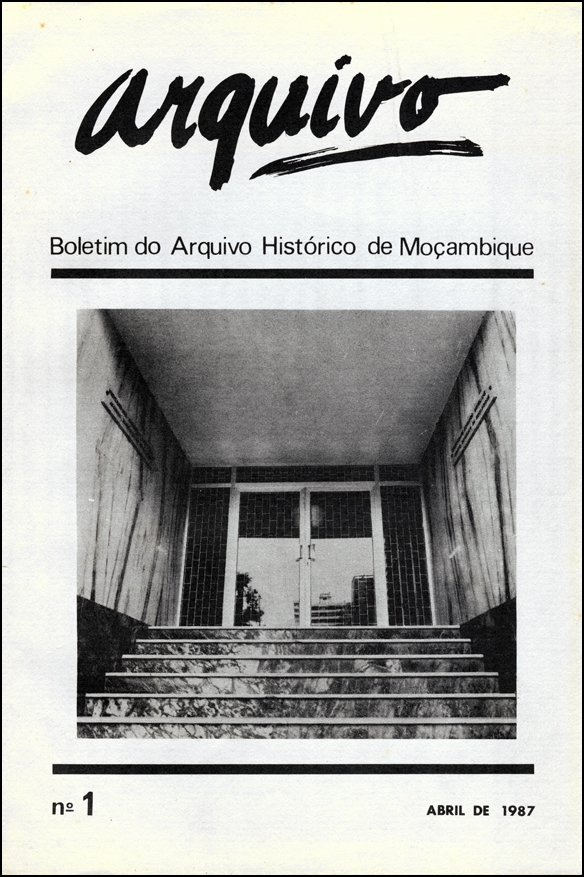 Cover of Arquivo, issue no.1