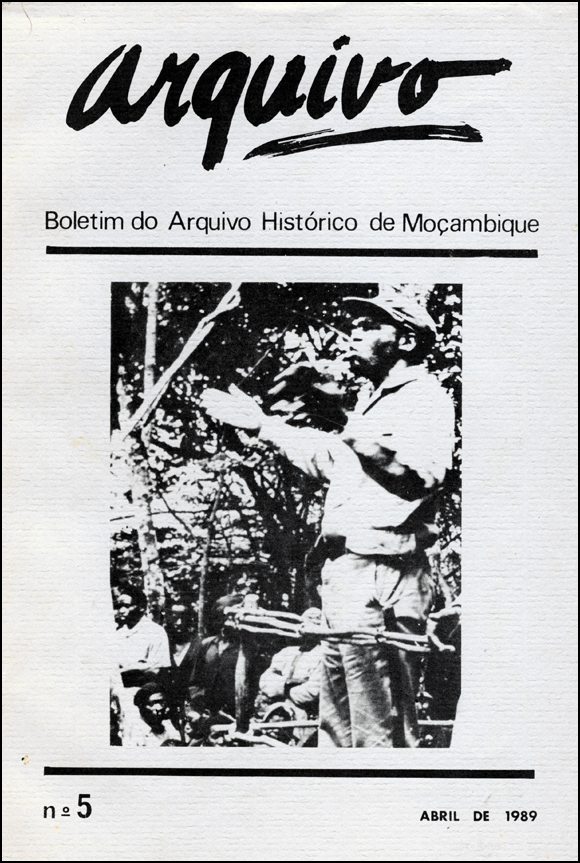 Cover of Arquivo, issue no.5