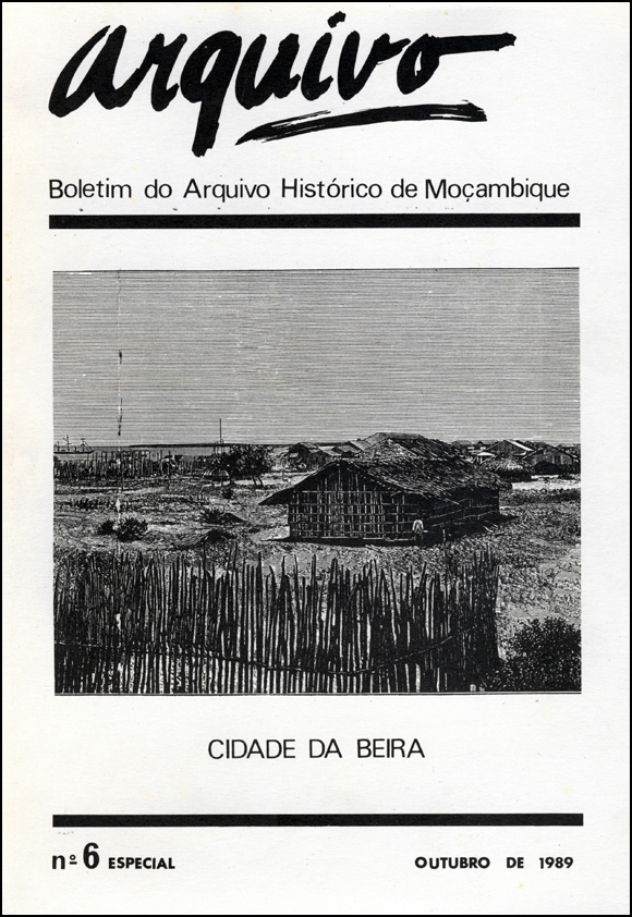 Cover of Arquivo, issue no.6