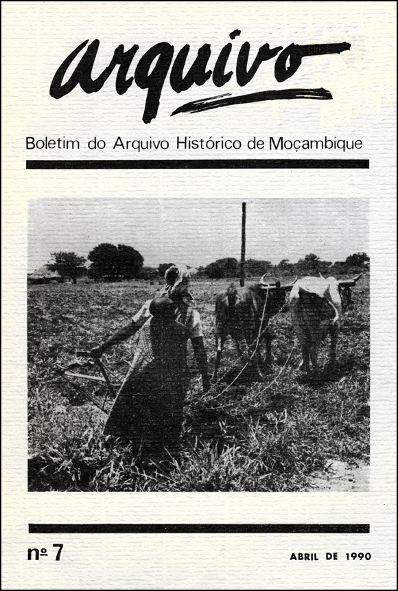Cover of Arquivo, issue no.7