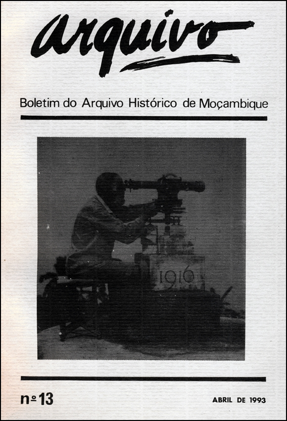 Cover of Arquivo, issue no.13