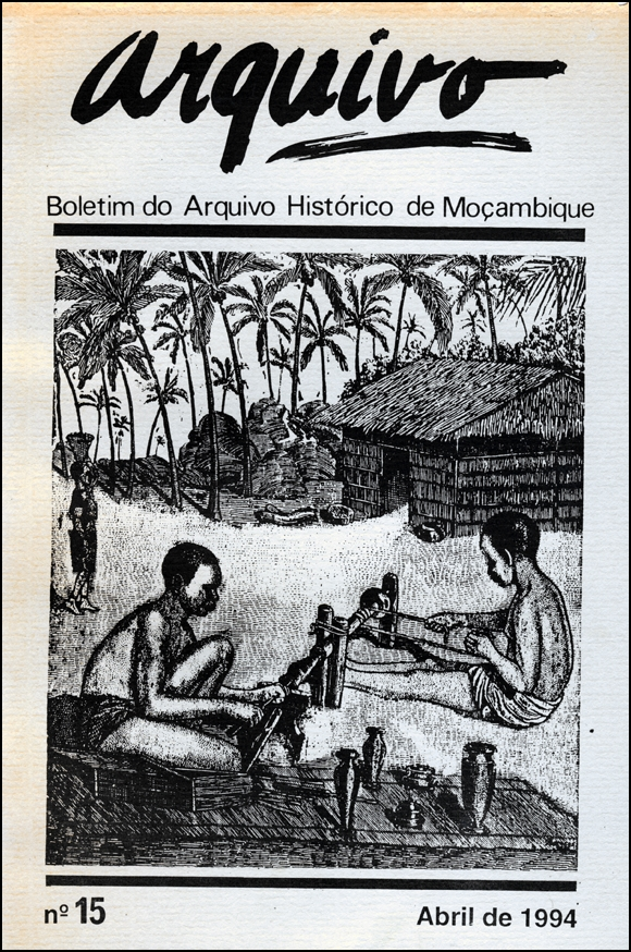 Cover of Arquivo, issue no.15