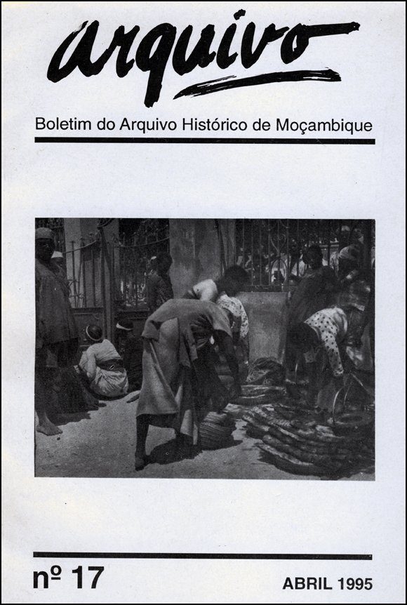 Cover of Arquivo, issue no.17