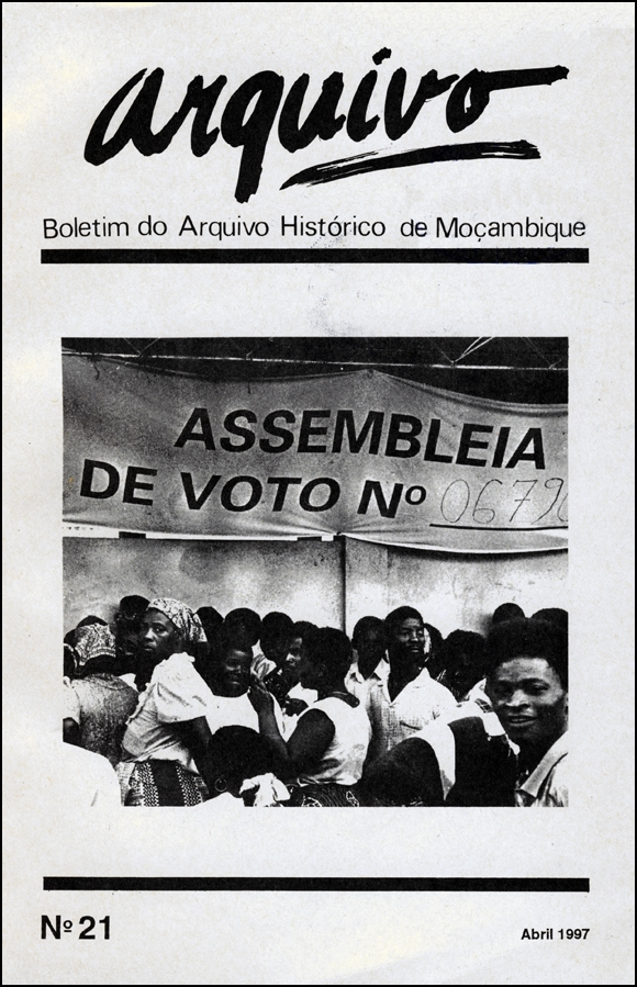 Cover of Arquivo, issue no.21