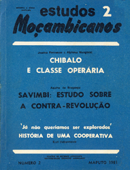 Cover of Estudos Mocambicanos, issue no.2