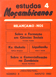 Cover of Estudos Mocambicanos, issue no.4