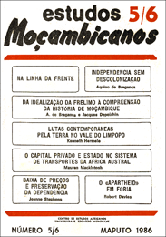 Cover of Estudos Mocambicanos, issue no.5-6