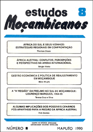 Cover of Estudos Mocambicanos, issue no.8