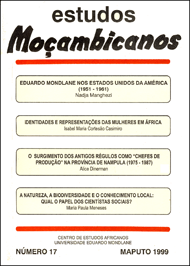 Cover of Estudos Mocambicanos, issue no.17