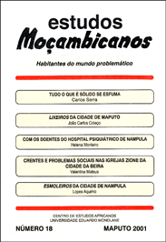 Cover of Estudos Mocambicanos, issue no.18
