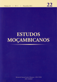 Cover of Estudos Mocambicanos, issue no.22