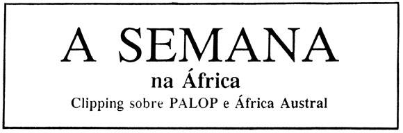 Title of Semana na Africa