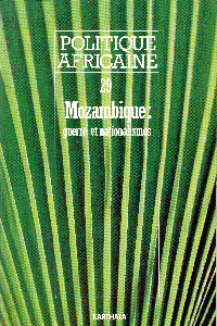Politique Africaine cover